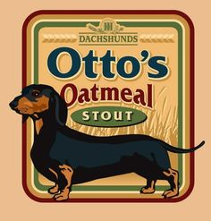 Otto's Oatmeal Stout  by III Dachshunds Beer Co.