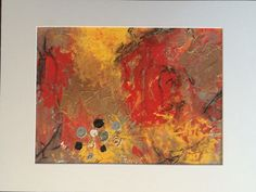 """Entitled """"Urbanization"""" acrylic and texture compound on canvas paper. sold at frames for futures"""