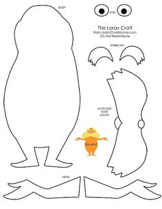 Lorax Coloring Page. Check out that cool T-Shirt here: https://www.sunfrog.com/Holidays/Make-Everyday-Earth-Day.html?53507