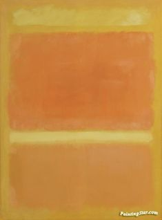 Untitled(yellow,orange,yellow,light orange) Artwork by Mark Rothko Hand-painted and Art Prints on canvas for sale,you can custom the size and frame Orange Art, Light Orange, Orange Yellow, Mark Rothko Paintings, Canvas Art Prints, Fine Art Prints, Local Art Galleries, Colour Field, Oil Painting Reproductions