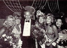 Moments after Lorraine Downes from New Zealand was crowned Miss Universe 1983.