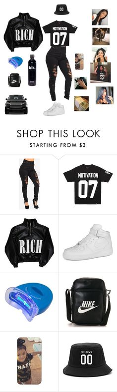"""""""Zero   Chris Brown"""" by official-jamaya ❤ liked on Polyvore featuring Cotton Candy and NIKE"""