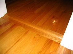 Hardwood Floor Transitions | ... Of Hardwood Flooring Transitions With  Different Thickness Flooring  Hardwood Flooring Design Ideas