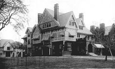 Cleveland Area History: 8411 Euclid Avenue was built by John J. Stanley. It was designed by Meade & Granger and built in 1893. This home would have stood on the north side of Euclid where a set of row houses currently fills the block between East 84th and 85th Streets