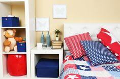Şıklığıyla Odanıza Yeni Bir Hava Katacak 16 Tasarım Komodin Kids Storage Shelves, Bedroom Colors, Furniture, Home Decor, Blog, Colourful Bedroom, Decorative Stickers, Fotografia, Decoration Home