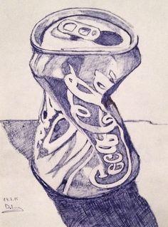 coke can .... it was a try