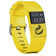 Foutou Wireless Activity and Sleep Monitor Pedometer Smart Fitness Tracker Wristband Watch Bracelet for Men Women Boys Girls Ladies Man iPhone4s /5 /5c /5s and IOS 6.1 Android System 4.3 (Yellow)   Product Material:PVC Main chip: Quintic QN9021 Bluetooth chip: Quintic QN9021 Bluetooth version: 4.0 BLE (low power) Memory: 64 KB RA