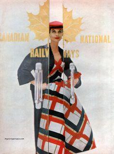 Harper's Bazaar May 1954 - Photo by Gleb Derujinsky Model Anne St. Marie