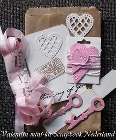 Scrap from Bemmel: Valentijns-tag