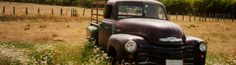 Perfect Old Truck Picture for Paige to Paint with Our Farm Logo on the Side!!!