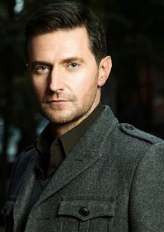Richard Armitage...tall...dark hair...blue eyes..sexy deep voice...need I say more?
