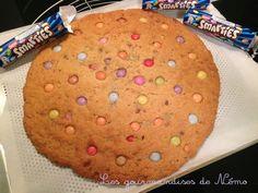 cookie géant smarties, gateau pour enfants aux smarties, recette du cookie…