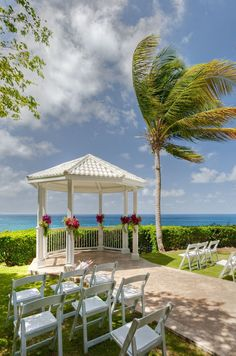Private secluded Gazebo over looking beautiful Caribbean waters at the French Man Reef this with a reception for under $5000.00.