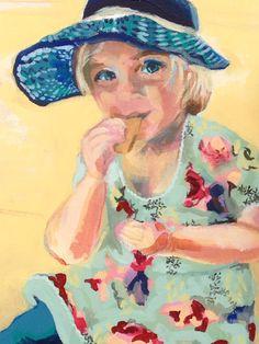 Portrait work in progress Camie by Dunja