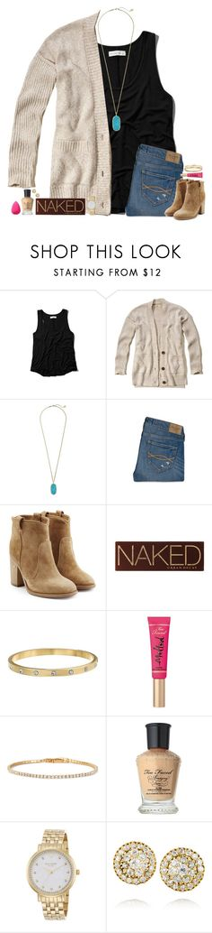 """❥"" by bloom17 ❤ liked on Polyvore featuring Abercrombie & Fitch, Hollister Co., Kendra Scott, Laurence Dacade, Urban Decay, Kate Spade, Too Faced Cosmetics, Stella & Dot, Fred Leighton and beautyblender"