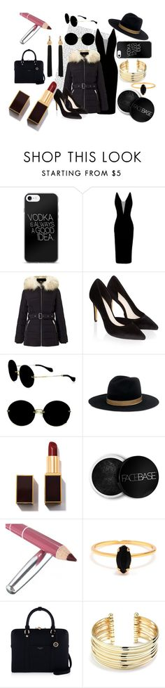 """Puffer Rich"" by poly-flower on Polyvore featuring Alex Perry, Miss Selfridge, Monsoon, Miu Miu, Janessa Leone, FaceBase, Bing Bang, Henri Bendel, Belk Silverworks and Yves Saint Laurent"