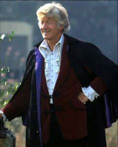 The quintessential Third Doctor outfit. Cosplayers - take note