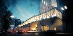 Gallery - Parsa Khalili and ATELIERPAP Propose Public Plazas and Open Plans for The Busan Hub of Creative Economy - 8