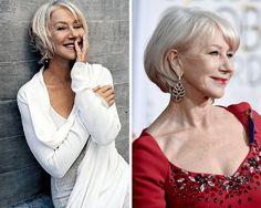 Gorgeous Haircuts for Women Past 70: Helen Mirren (Born 1945)