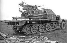 8,8 cm FlaK 37 (Sf) auf Fgst. s.Zugkraftwagen 18t (Sd.Kfz. 9)에 대한 이미지 검색결과