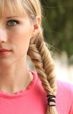 Fish Tail Braid Tutorial/ How to