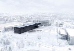 Helsinki Central Library Competition Entry / WEAVA Architects + SWAN Architectes