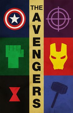 Some avengers logos - like the Iron Man one.