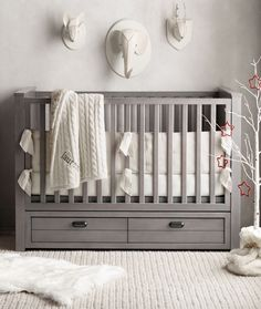 bring the spirit of the season to the nursery. #rhbabyandchild