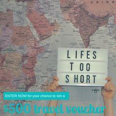Win a $500 Flight Centre voucher thanks to KeepSnaps!