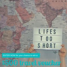 Win a $500 Flight Centre voucher thanks to KeepSnaps!