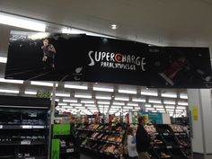 At last!  Some retailer interest in the Olympics.  Sainsbury's again supporting the GB paralympics team