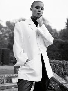 "philoclea: ""Adwoa Aboah by Karim Sadli for Vogue UK, February 2017 styled by Francesca Burns "" 00s Fashion, Fashion 2017, Womens Fashion, India Fashion, High Fashion, Vogue Uk, Vogue Paris, Vogue India, Vogue Russia"