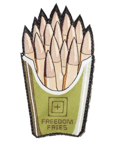 5.11 Tactical Freedom Fries Patch