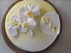 Orchidee taart