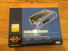 Linksys EtherFast BEFSR41-RM 4-Port 10/100 Wired Router (BEFSR41) - http://electronics.goshoppins.com/home-networking-connectivity/linksys-etherfast-befsr41-rm-4-port-10100-wired-router-befsr41-3/