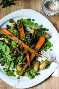 5 Unique Salad Recipes PERFECT for Summer: Vegan Samosa Summer Salad