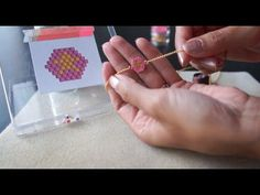 Brick Stitch Tutorial (french with english subtitles) - YouTube