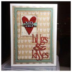 Tim Holtz Valentines Card