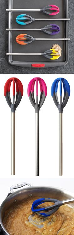 Whisk and spatula in one! Perfect for cake batter etc. #product_design #kitchen #baking