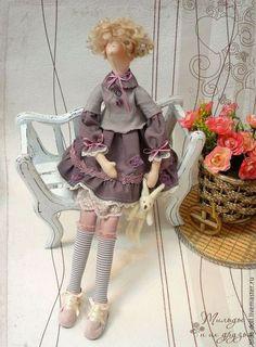 В стиле Тильда - кукла тильда Кэтти