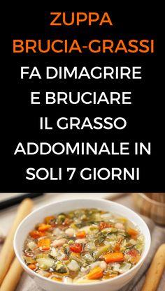 #zuppa #bruciagrassi #perderepeso #mangiaresano #animanaturale