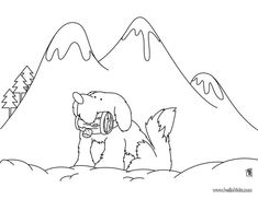 Switzerland Coloring Pages For Kids Children Of Other