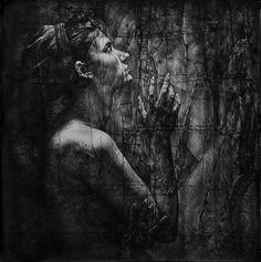 """Saatchi Online Artist Andreea Anghel; Drawing, """"Schizophrenia."""" #art"""