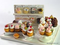ちょび子★ミニチュアカップケーキ