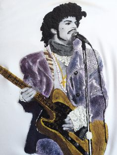 *****NOT ONLY A PIECE OF COTTON *** Prince (Prince Rogers Nelson), the american famed singer, songwriter and musical innovator unluckly died unexpectedly at the age of 57 years My Prince art to wear i