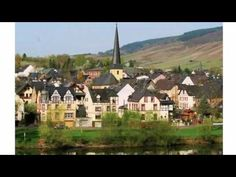 """Henkel - Enkirch - Visit http://germanhotelstv.com/henkel Traben-Trarbach-Wolf lies 7 km. south-east of Kröv and is one of the most famous villages in the Moezel region. In a quiet side street of the village """"Wolf"""" you will find the Apartment situated on the 1st floor. -http://youtu.be/ivpXSf-KTS4"""