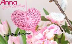 Unsere Valentins-Herzen zaubern sicher jedem Beschenkten ein Lächeln ins Gesicht.Und das beste ist, sie sind auch schnell gemacht! Flowers, Plants, Valentines Day, Face, Tutorials, Florals, Plant, Royal Icing Flowers, Blossoms