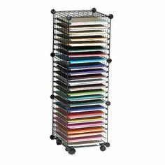 High Quality Amazon.com: Scrapbook Paper Storage Cube System: Home U0026 Kitchen