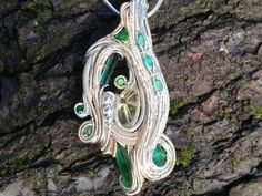 Dendra. Silver and 14k gold fill wire wrapped by OreganickJewelry