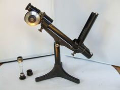 Antikes Halbschatten-Polarimeter, D.R.P.a., funktionsfähig | eBay